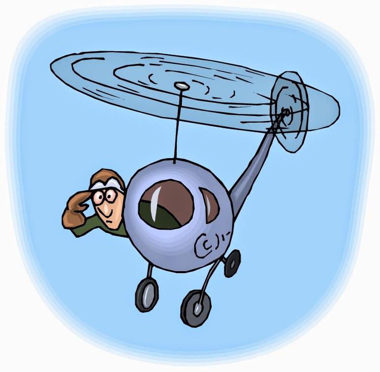 الاباء الهليوكبتر