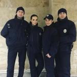 الشرطية الاوكرانية الفاتنة