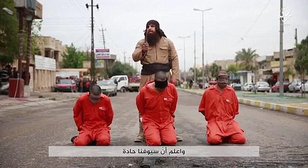 بلدوزر داعش المخيف