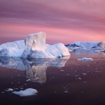 جبال الجليد فى جرينلاند