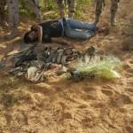 جثث الارهابيين فى سيناء