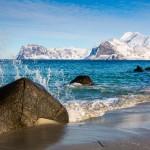 جمال جزر لوفوتين فى الشتاء