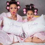 داليا البحيرى و ابنتها قسمت