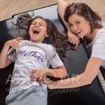 داليا البحيرى و ابنتها قسمت  9
