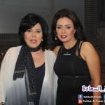 رانيا يوسف مع صاحبة السعادة