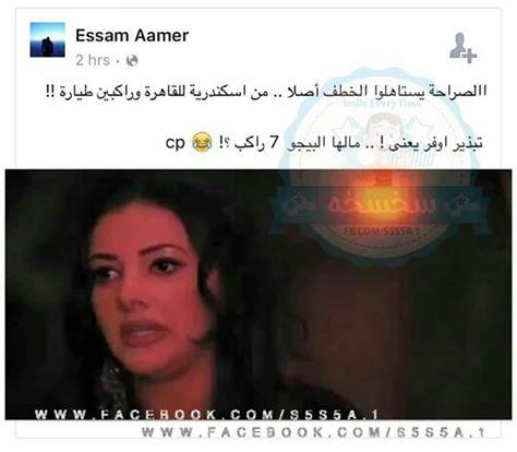 كوميكس الطائرة المصرية المختطفة