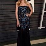 Heidi Klum في فستان من Versace