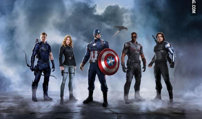 ابطال فيلم Civil war