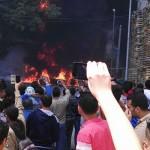 حادث انفجار مقطورة المواد البترولية بالاسكندرية