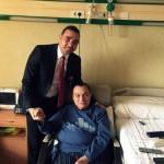 حسنى مبارك داخل المستشفى