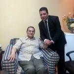 حسنى مبارك فى مستشفى المعادى