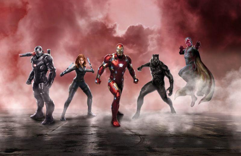 فريق iron man