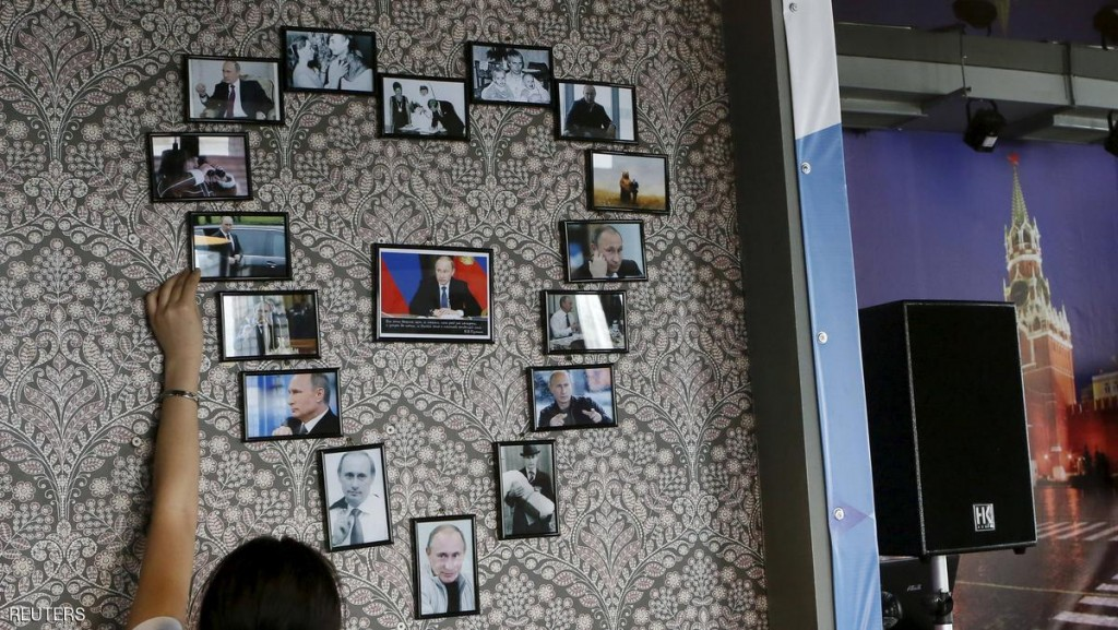 The Wider Image: Siberia's Putin cafe