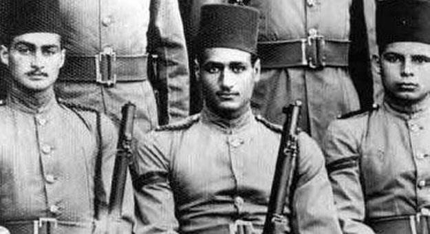 أحمد مظهر في الجيش