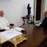 بابا الفاتيكان يستقبل شيخ الأزهر