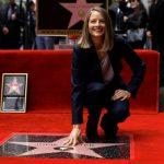 جودى فوستر و النجمة الذهبية