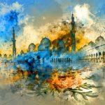 لوحات مدهشة لمعالم الامارات
