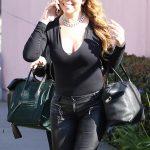 ماريا كارى فى شوارع لوس انجلوس