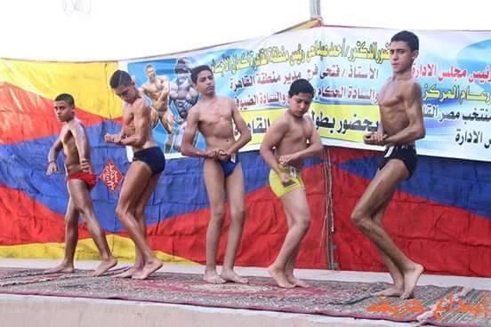 مسابقة كمال اجسام مناطق القاهرة 2