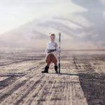 مصورة تحول أطفالها إلى شخصيات سحرية