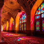 المسجد الملون فى ايران