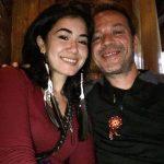 ستيورا طليقة عمر متين مع صديقها البرازيلى