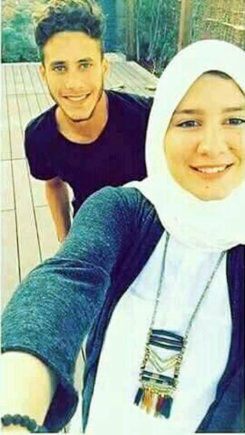 سيلفى رمضان صبحى مع شقيقة شريف اكرامى