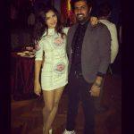 محمد سامى وزوجته مى عمر
