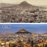 اثينا عام 1862 واليوم