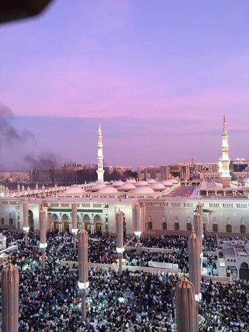 انفجار بمحيط الحرم النبوى