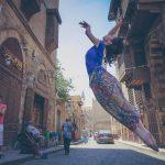 راقصة باليه ترقص فى القاهرة القديمة