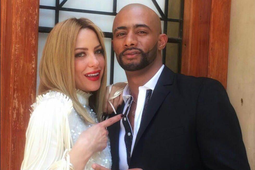ريم مصطفى مع محمد رمضان