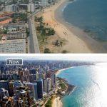 ساحل فورتاليزا البرازيلى 1975 واليوم