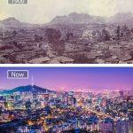 سول عام 1900 و اليوم