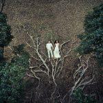 صور عروسين بالدرون