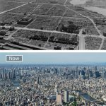 طوكيو عام 1945 و اليوم