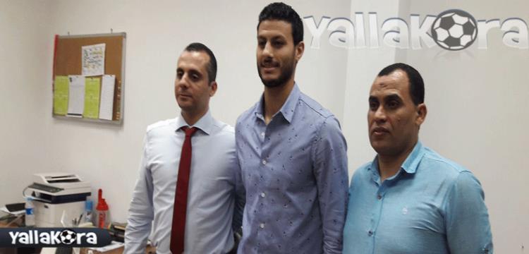 محمد الشناوى يوقع للاهلى