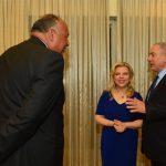 وزير الخارجية يلتقي نتنياهو في مقر الحكومة الإسرائيلية