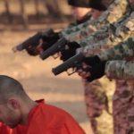اطفال داعش يعدمون الاسرى