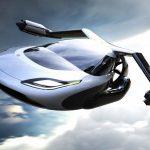 النموذج الجديد للسيارة الطائرة