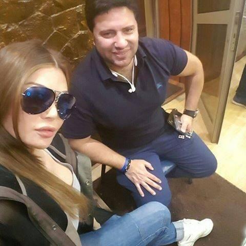 تامر عبد المنعم مع هيفاء وهبى