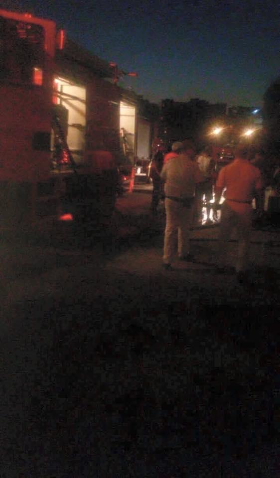 حريق القنصلية الإيطالية بالغردقة