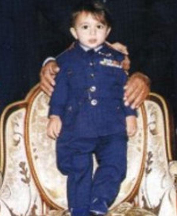 حفيد حسنى مبارك
