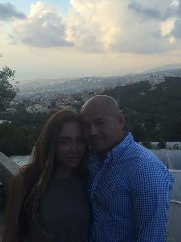 ريهام سعيد وزوجها الجديد