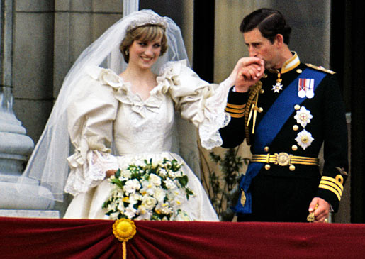 زواج ديانا وتشارلز