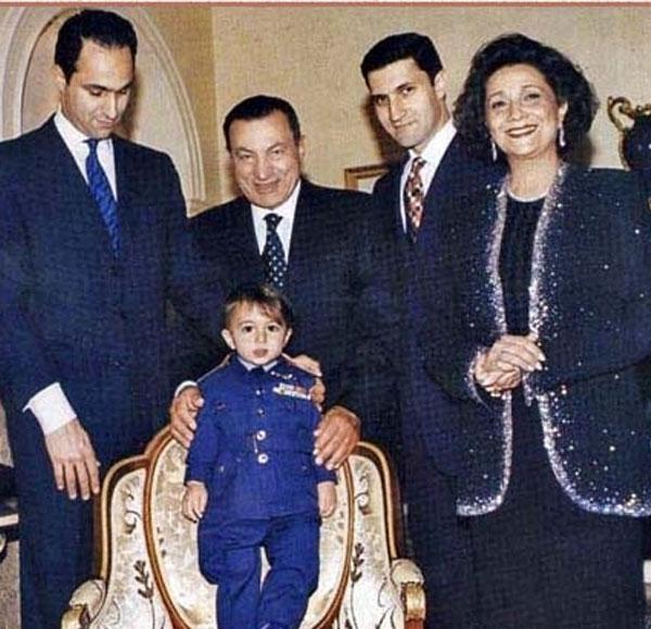 عائلة مبارك ع الحفيد الراحل