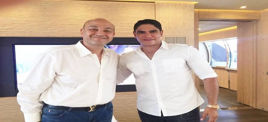 عمرو اديب مع ابو هشيمة