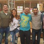 عمرو واكد وأحمد الفيشاوي وريهام حجاج في كواليس فيلم القرد بيتكلم