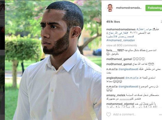 محمد رمضان فى فيلم جواب اعتقال