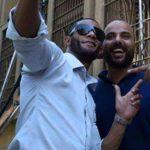 محمد رمضان في كواليس فيلم جواب اعتقال 2